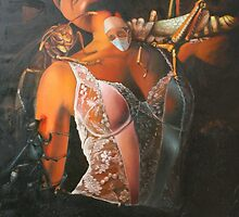 BLOODSUCKERS, limited edition giclee of D.KLIKOVAC painting by Drasko Klikovac