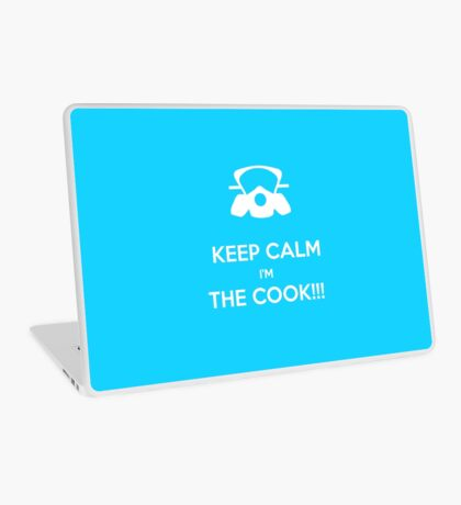 KEEP, CALM,I'M THE COOK !!!  Laptop Skin