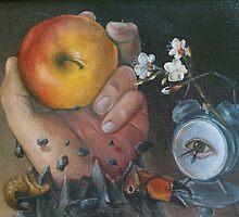HAPPY BIRTHDAY, CEKI, limited edition giclee of D.KLIKOVAC painting  by Drasko Klikovac