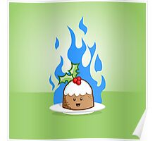 Flaming Pudding Poster