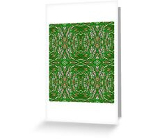 Green Invasion Greeting Card
