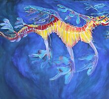 Leafy Sea Dragon by Lynelle Westlake