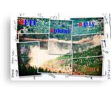 Forest Rally Canvas Print
