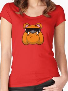 Bull Doggin! Women's Fitted Scoop T-Shirt