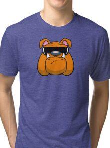 Bull Doggin! Tri-blend T-Shirt