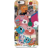 The amazing world of Gumball iPhone Case/Skin