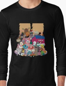 The amazing world of Gumball Long Sleeve T-Shirt