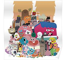 The amazing world of Gumball Poster