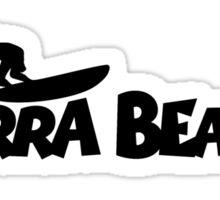 Kirra Beach Surfing Sticker