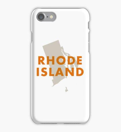 Rhode Island - Red iPhone Case/Skin