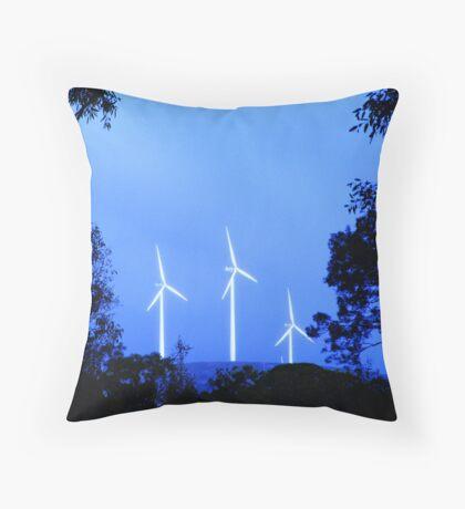 Wind Farm Throw Pillow