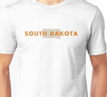 South Dakota - Red Unisex T-Shirt