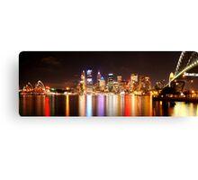 Sydney Colour!! Canvas Print