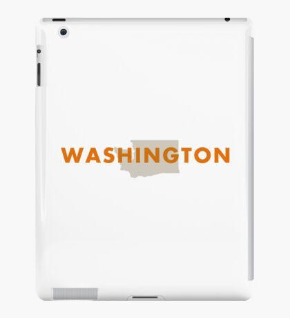 Washington - Red iPad Case/Skin