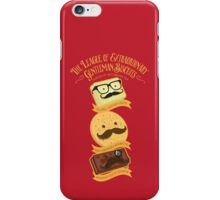 The League of Extraordinary Gentleman Biscuits iPhone Case/Skin