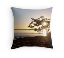 Nudgee Sunrise Throw Pillow