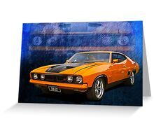 Ford Falcon XB 351 GT Coupe Greeting Card