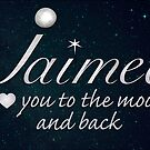 To the Moon and Back - Jaimee by Deborah McGrath
