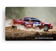 Whittle and Vass Canvas Print