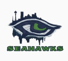 Seahawks Eye in English (SSH-000007) Kids Clothes