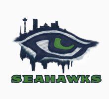 Seahawks Eye in English (SSH-000007) by EngDesigns