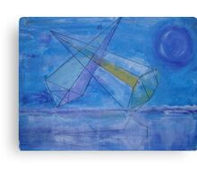 triangles in the sky Canvas Print