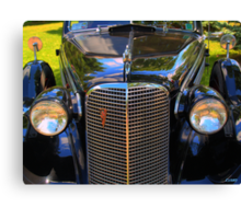 1937 Cadillac Convertible Canvas Print