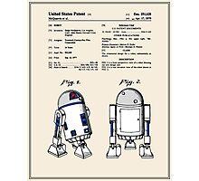 R2D2 Patent - Colour Photographic Print
