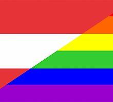 gay flag austria by tony4urban