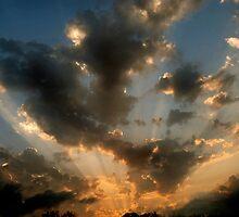 Tuesday Night Sunset by Robert Baker