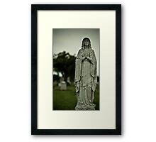 Pray For Them Framed Print