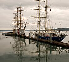 Tall Ships at Tacoma by Bryan Peterson