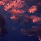 Clouds on fire by dragonsnare