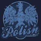 Polish Vintage Style t shirt by PolishArt