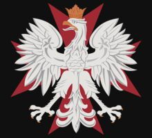 Polish Eagle Maltese Cross t shirt by PolishArt