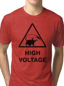 NEW Raichu high voltage pokemon 2 Tri-blend T-Shirt