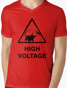 NEW Raichu high voltage pokemon 2 Mens V-Neck T-Shirt