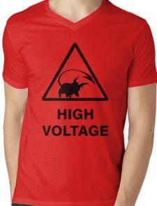 NEW Raichu high voltage pokemon 2 Mens V-Neck T-Shirt