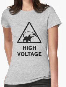 NEW Raichu high voltage pokemon 2 Womens Fitted T-Shirt