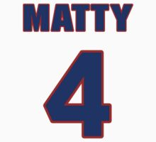 National baseball player Matty Alou jersey 4 by imsport