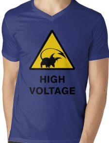 Raichu high voltage pokemon 3 Mens V-Neck T-Shirt