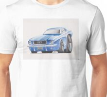 1964 Ford Mustang by Glens Graphix Unisex T-Shirt
