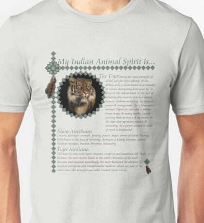 My Animal Spirit is...Tiger Unisex T-Shirt
