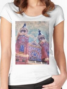 St. Mary's Catholic Church Women's Fitted Scoop T-Shirt