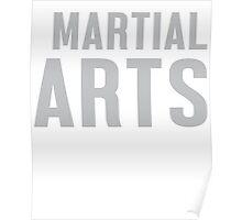 Burn Off The Crazy Martial Arts T-shirt Poster