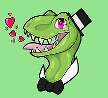 Dapper Dinosaur by hazard0us