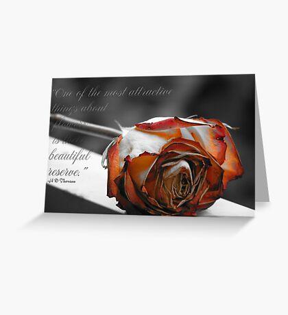 Beautiful Reserve Greeting Card