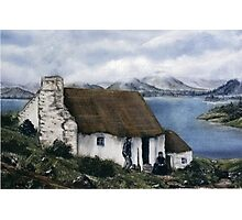 """Irish Cottage"" Photographic Print"