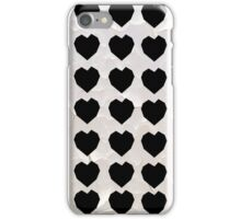 Black Hearts to Crumble iPhone Case/Skin