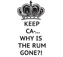 The rum is gone, WHY?! by Vitalia